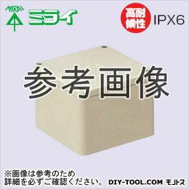 未来工業 防水プールボックス (IPX6型) グレー (PVP1515P)