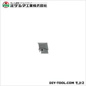 ミヅシマ工業 ブラシマットL コーナー グレー 50mm×50mm (402-2150)