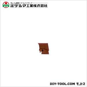ミヅシマ工業 ブラシマットL コーナー ブラウン 50mm×50mm (402-2180)