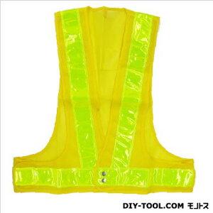 役立〜ツ 安全ベスト70mm 黄/黄 フリーサイズ 5917606 枚