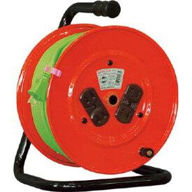 日動 電工ドラム標準型100Vドラム2芯30m 334 x 197 x 266 mm NR304D 1点