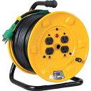 日動工業 電工ドラム 標準型100Vドラム アース付(×1台) NP-E34 30m NPE34