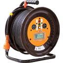 日動 電工ドラム三相200Vドラムアース漏電しゃ断器付30m ND-EB330-20A