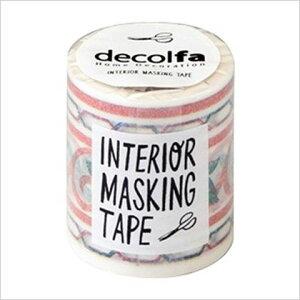 decolfa インテリアマスキングテープ 50mm×8m タイル/グリーン M3601 1巻