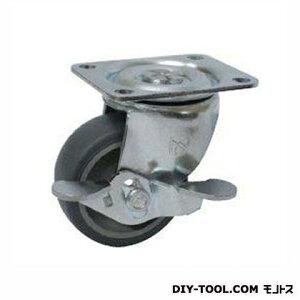 ナンシン 定番小径キャスター エラストマー車輪 高さ:65mm STC-50 TP S-1