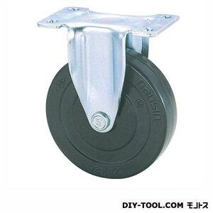 ナンシン 定番軽量キャスター ゴム車輪 高さ:80mm KEL65RL (K 65- 65×20)