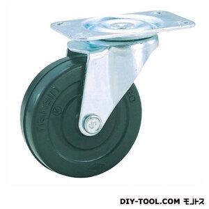 ナンシン 定番軽量キャスター ゴム車輪 高さ:92mm TEL75RL (S 75- 75×20)