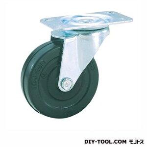 ナンシン 定番軽量キャスター ゴム車輪 高さ:122mm (TEL100RL(S100-100×25))