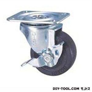 ナンシン 定番中軽量キャスター ゴム車輪 高さ:85mm STC65EMS-1 (C 65- 65×25)