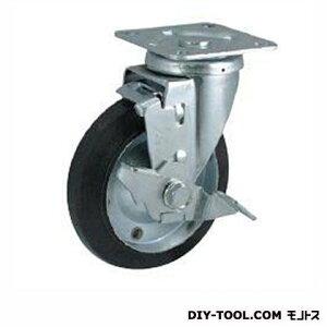 ナンシン 定番中軽量キャスター ゴム車輪 高さ:190mm (STC150CBCS-2(C150-150×40))