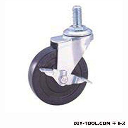 ナンシン 軽量ねじ込みキャスター ゴム車輪 SEL65RLM12S1(S 65- 65×20)