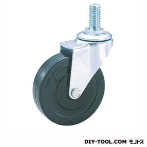 ナンシン 軽量ねじ込みキャスター ゴム車輪 SEL75RL M12(S 75- 75×20)