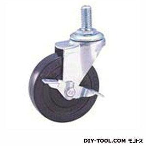 ナンシン 軽量ねじ込みキャスター ゴム車輪 SEL75RLM12S1(S 75- 75×20)