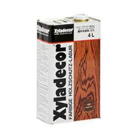 大阪ガスケミカル キシラデコール 高性能木材保護着色塗料 4L ウォルナット #111 1缶