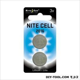NITE IZE 交換用リチウム電池 2P シルバー (NI01478) NITE IZE 文具・OA機器 文具・事務用品