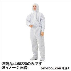クレシア クリーンガードCX ツナギ服 LLサイズ ホワイト 68220 24着