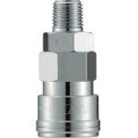 長堀工業 ナック クイックカップリング AL20型 鋼鉄製 メネジ取付用 CAL22SM 1個 CAL22SM 1 個