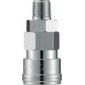 長堀工業 ナック クイックカップリング AL20型 鋼鉄製 メネジ取付用 CAL23SM 1個 CAL23SM 1 個