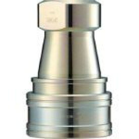 長堀工業 ナック クイックカップリング S・P型 鋼鉄製 オネジ取付用 CSP02S 1個 CSP02S 1 個