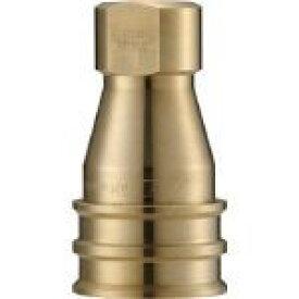 ナック クイックカップリング SPE型 真鍮製 大流量型 オネジ取付用 CSPE03S2 1個