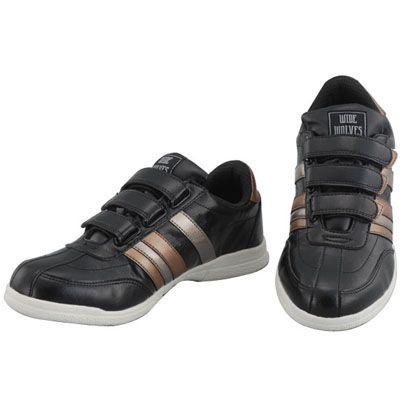 おたふく手袋 安全靴 WIDE WOLVES ターンベントベルクロ(マジック)タイプ ブラック 25.5cm (WW-332M)