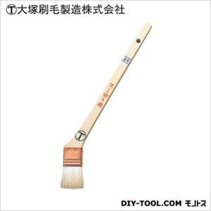 マルテー 隅切用 銅巻 筋違 白 8号 D8×W55×H251(mm) ハケ 筆