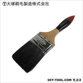 マルテー #810中国ラスター 平 黒 3インチ D24×W80×H285(mm) ハケ 筆