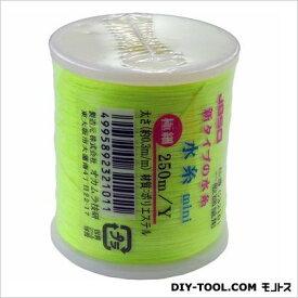 JBSO 水糸 mini イエロー 極細 250m (G32101)