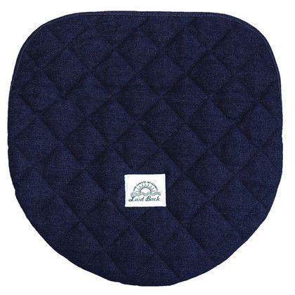 オカトー レイドバック 洗浄・暖房用フタカバー ネイビーブルー 洗浄・暖房タイプ 255749