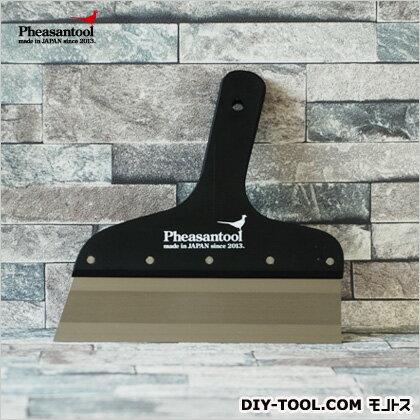 フェザンツール 壁紙の施工道具minamoto源フラットパテベラ上塗り用 ブラック 7寸 KTN0011