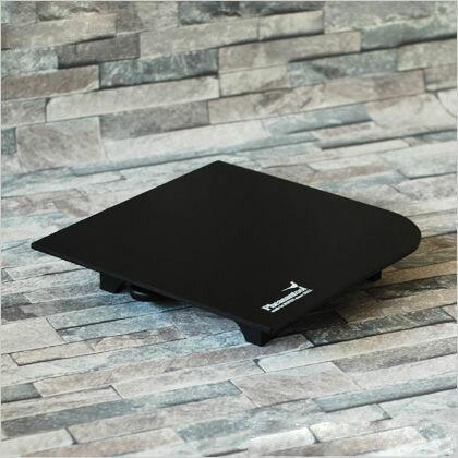フェザンツール 壁紙の施工道具minamoto源パテベラ収納機能付パテ盛板 ブラック 295mm×295mm KTN0012