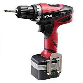 RYOBI/リョービ 充電式ドリルドライバー電池パック2個付き(647522A) 366 x 169 x 284 mm BD-123 1台