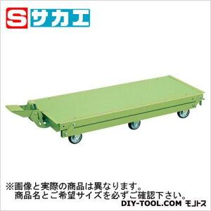 サカエ 作業台オプションペダル昇降台車(6輪車) KTW157Q6DPS