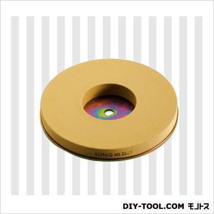 新興製作所 刃物研磨機用替砥石(鉄板接着済) 仕上用 (キング #6000) キング#6000