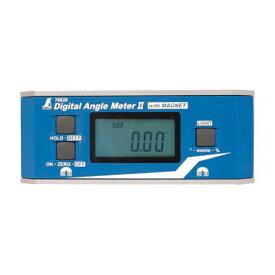 シンワ測定 シンワデジタルアングルメーター2防塵防水マグネット付 ホワイト 76826 1ヶ