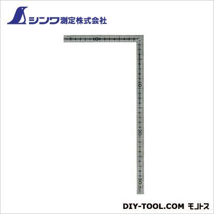 シンワ測定 シンワ曲尺小型溝付ステン30cm×15cm表裏同目 1.1×165×330mm 12130