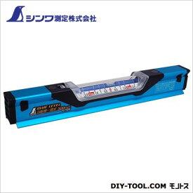 シンワ測定 ブルーレベル 勾配用一管式 42×34×300mm (76358) 水平器 水平 水平機