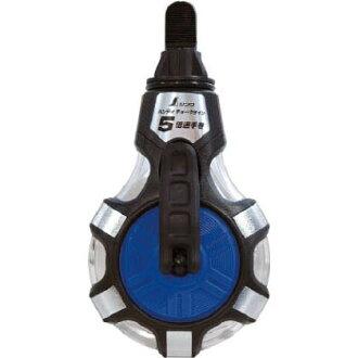信和测量方便粉笔线 5 速度手缠绕蓝色 58 x 88 x 165 毫米 (77560 日本电产)