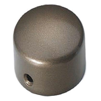 シロクマ エンドキャップ横穴 アンバー 35径 (ABR-108)