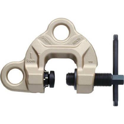 スーパーツール スクリューカムクランプ(ダブル・アイ型 ツイストカム式) 鋼材用吊クランプ SDC0.5S