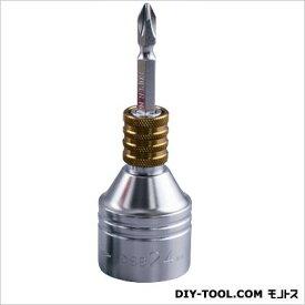 スーパーツール 電ドル用ソケットビット ゴールド 全長:98mm DSB24