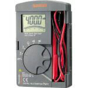 三和電気計器 ポケット型デジタルマルチメータ PM11 1 個