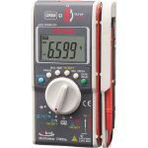 三和電気計器 ハイブリッドミニテスタ ケース付(マルチメータ+クランプメータ) (PM33AC) 1台