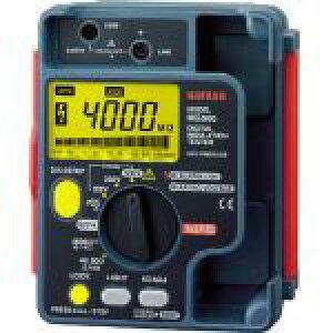 三和電気計器 SANWA デジタル絶縁抵抗計 1000V/500V/250V 1台 MG1000 MG1000 1 台