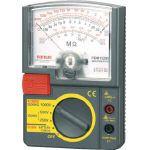 三和電気計器 定格電圧3レンジ式アナログ絶縁抵抗計 500V/250V/125V PDM5219S 1 個