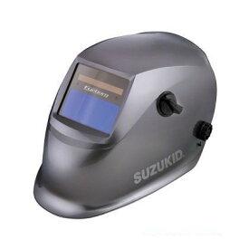 SUZUKID 液晶式自動遮光溶接面アイボーグαII ガンメタブラウン EB-200A2 1点