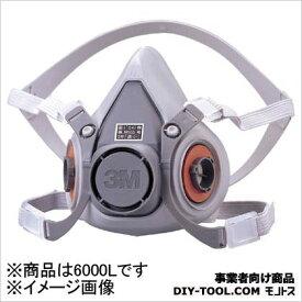 3M(スリーエム) 防毒マスク面体 6000 L 6000L 1 個