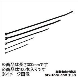 3M(スリーエム) ナイロン結束バンド屋外用 黒色 NBO300MM 100本