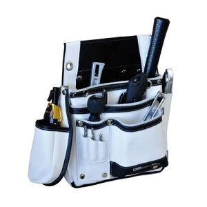 DBLTACT 本革釘袋 卓越モデル 白 DTL-11-WH