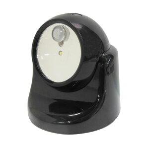 TRAD 乾電池式LEDセンサーライト ブラック TSL-1B
